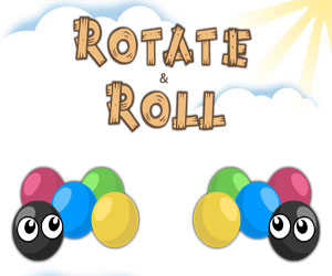 Rotate and Roll played 705 times to date. All about the gravity, folks! Get your happy little ball to the big bubble, but don't fall, and don't hit the spikey dudes. Many levels, many, many levels. And a level editor? Aw snap!