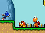 Sonic in Mario World 2 played 32,996 times to date.  Sonic has been separated from his home and he needs help getting back! Stomp on enemies, collect coins and find a way back home. Don't let Sonic down!
