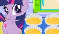 Sparkle Cooking Cupcakes played 169 times to date. This pony sure does love to bake some delicious treats for her friends. Help Sparkle bake some cupcakes in this family fun game, Sparkle Cooking Cupcakes!