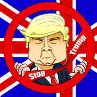 Stop Trump played 112 times to date.  You are working at the UK immigration bureau. Since the queen is afraid that Donald Trump could try to enter the country you have to check all travellers twice and approve or deny their visit.