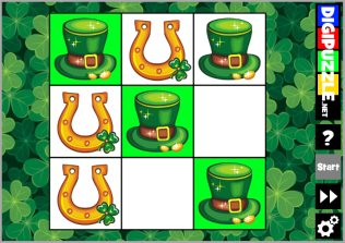 St.Patrick's Day TicTacToe played 153 times to date.  Play TicTacToe the St.Patrick's way