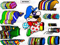Super Mario Dress Up played 2,159 times to date.  Dress Mario up. Pick from multiple hats, overalls, shirts, gloves, shoes, and more things to stick on this poor plumber.
