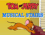 Tom & Jerry Musical Stairs played 8,799 times to date.  Tom and Jerry are at it again.  Help Jerry climb the musical stairs.