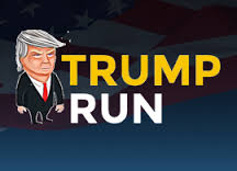 Trump Run played 539 times to date. Trump Run is a game you need to quickly determine the path, dodging holes and Mexicans so Trump can build the wall!