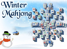 Winter Mahjong played 143 times to date.  Warm up with the chillest game out there - Winter Mahjong! This great winter site features beautiful wintery mahjong tiles, a festive song, and many great mahjong solitaire layouts to entertain you all winter!