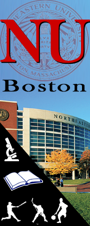 Logo Banner Design for Northeastern University on Social Media Sites